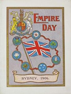 Empire Day Program 1906 cover NRS 4474 1-265